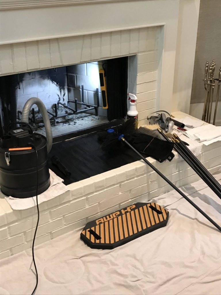 Chimney sweep in Bossier City